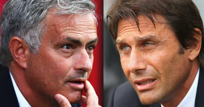 Mourinho & Conte: Hazard compares duo