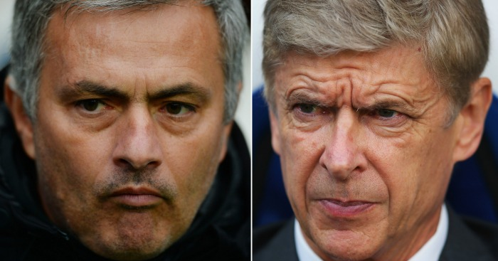 Jose Mourinho: Another day, another pop at Wenger