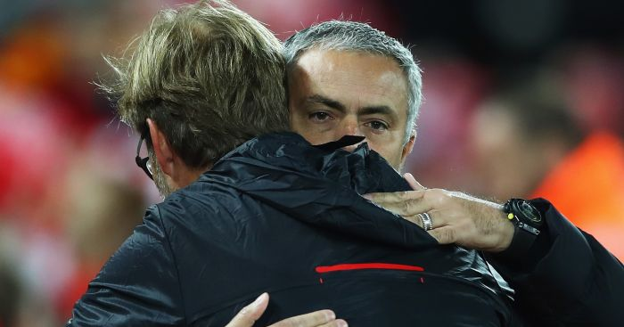 Mourinho and Klopp: Could face each other in final
