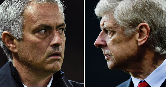 Mourinho and Wenger: Go head-to-head