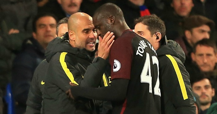 Yaya Toure: Put months of frustration behind him