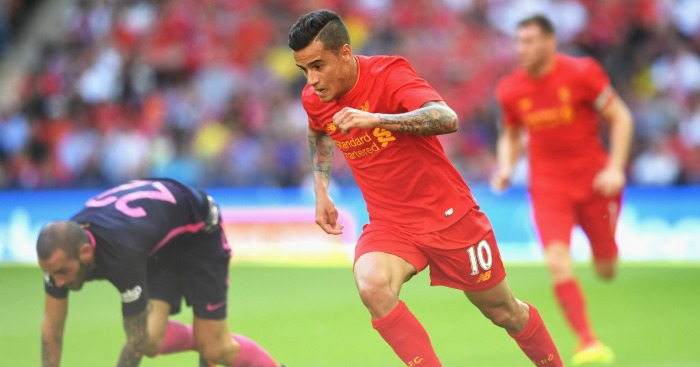 Philippe Coutinho: Attacker in action against Barcelona