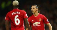 Paul Pogba and Zlatan Ibrahimovic: Firing for United