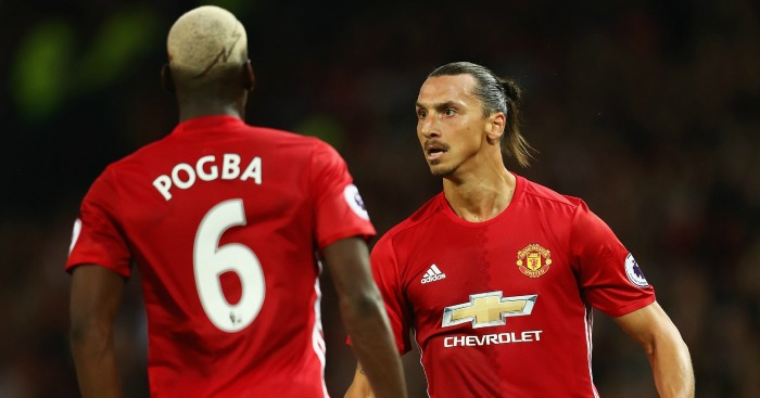 Paul Pogba and Zlatan Ibrahimovic: Firing for United