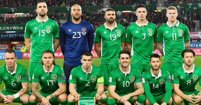 Republic of Ireland: Move top of Group D