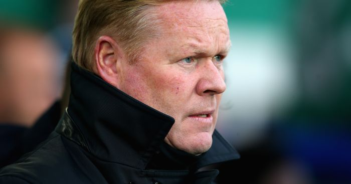 Ronald Koeman: Not happy with Everton's start