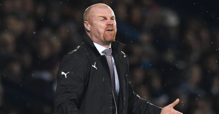 Sean Dyche: Fumes at Burnley display