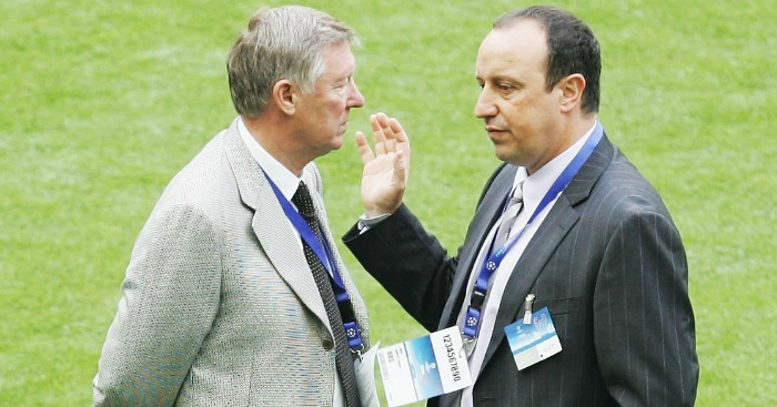 Sir Alex Ferguson: Allowed Benitez to watch United train