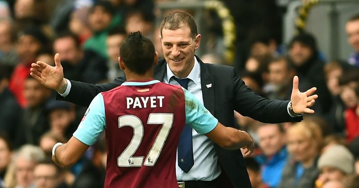 Slaven Bilic: Not concerned about Dimitri Payet future