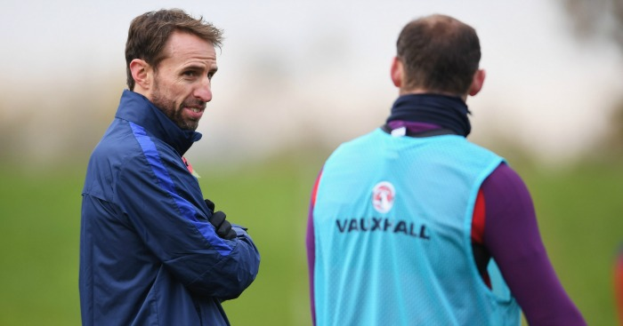 Gareth Southgate: Pinned his hopes on Rooney