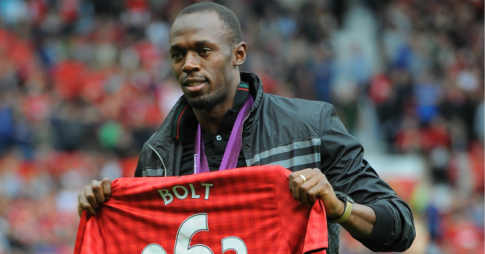 Usain Bolt: Called MUTV