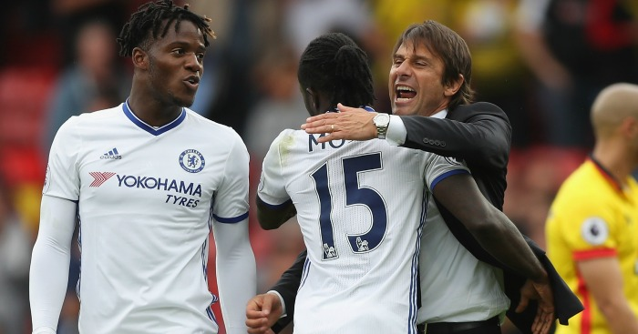 Victor Moses: A regular under Antonio Conte