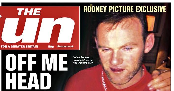 Wayne Rooney The Sun