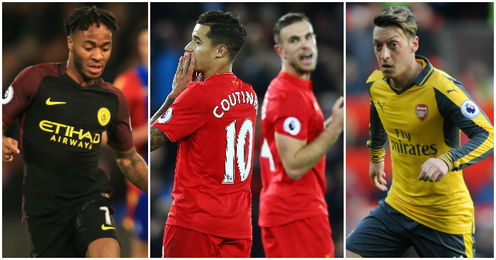 Sterling, Coutinho, Henderson & Ozil: Mixed news on the stats front