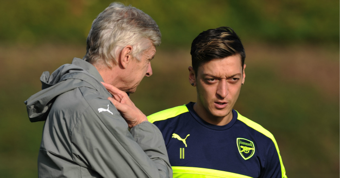 Mesut Ozil: 18 months left on Arsenal deal