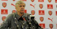 Arsene Wenger: Denies bust-up