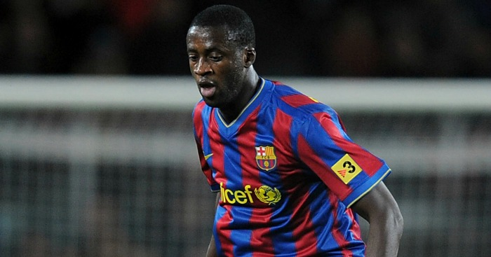 Yaya Toure: Left Barcelona in 2010
