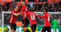 Zlatan Ibrahimovic: Bags twice in United win