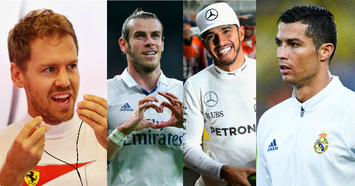 Top earners: Football v F1