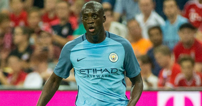 Yaya Toure: Angered at Referee gaffe