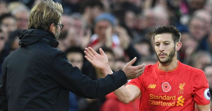 Adam Lallana: Enjoying playing for Jurgen Klopp