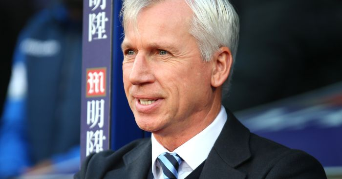 Alan Pardew: Breathes sigh of relief