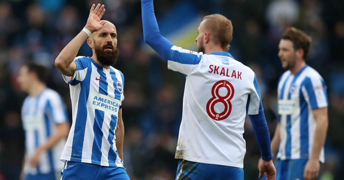 Brighton & Hove Albion: Move back top
