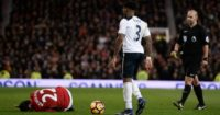 Danny Rose: Tackled left Henrikh Mkhitaryan in a heap