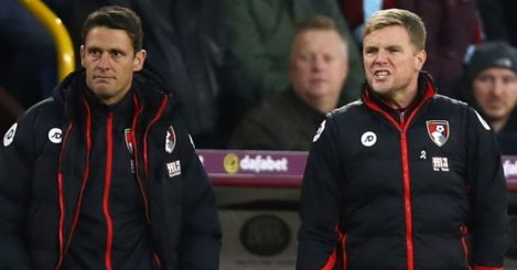 Eddie Howe: Bellows out instructions
