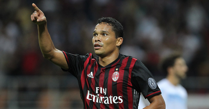 Carlos Bacca: Happy to stay at Milan says agent