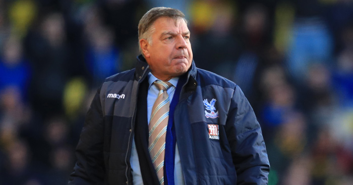 Sam Allardyce: Disappointed with penalty decision