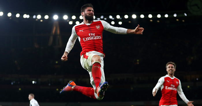 Olivier Giroud: Arsenal matchwinner against WBA