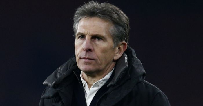 Claude Puel: Not impressed with pitch