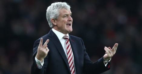 Mark Hughes: Stoke side stuck in the middle