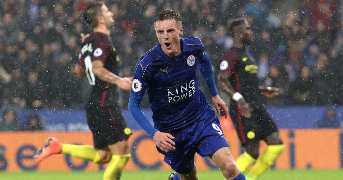 Jamie Vardy: Ends goalscoring drought