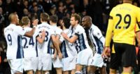 Jonny Evans: Scores opener for Baggies