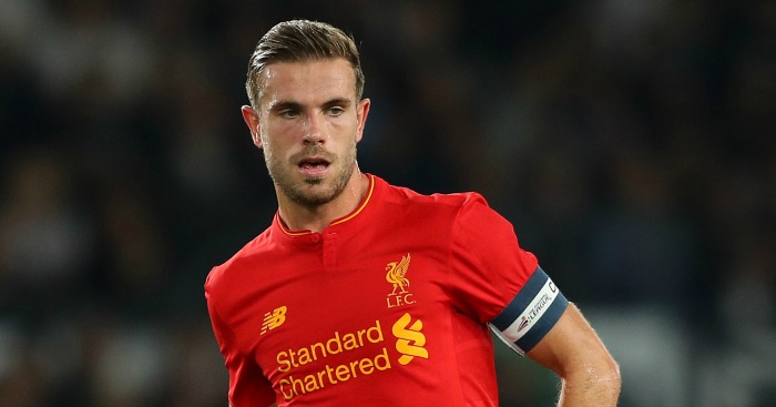 Jordan Henderson: Still on the sidelines