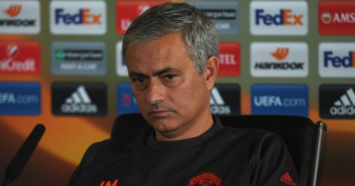 Jose Mourinho: Not happy with table