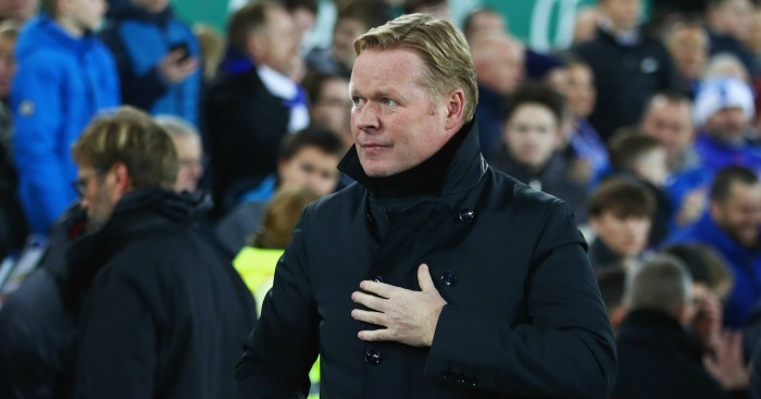 Ronald Koeman: Thought his side were unlucky