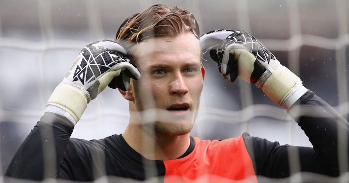 Loris Karius: Told to 'shut up' by Jamie Carragher