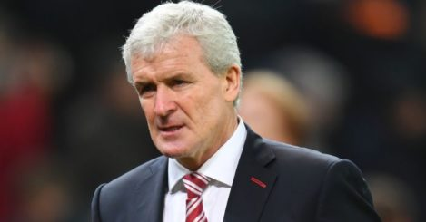 Mark Hughes: Witnessed Stoke throw win away