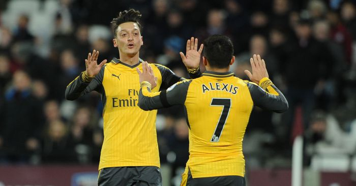 Ozil and Sanchez: Futures up-in-the-air