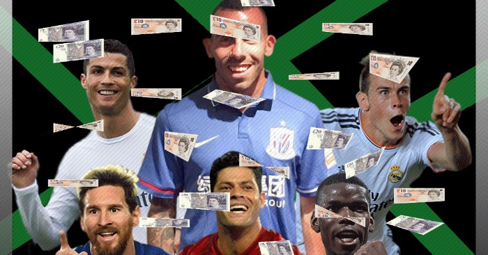 Carlos Tevez: Top earner