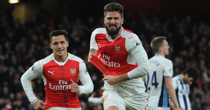 Olivier Giroud: Arsenal's 'Plan B' this season