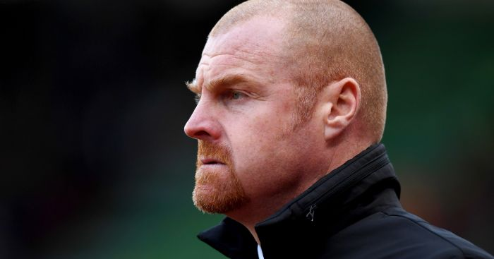 Sean Dyche: Bemoans Burnley luck