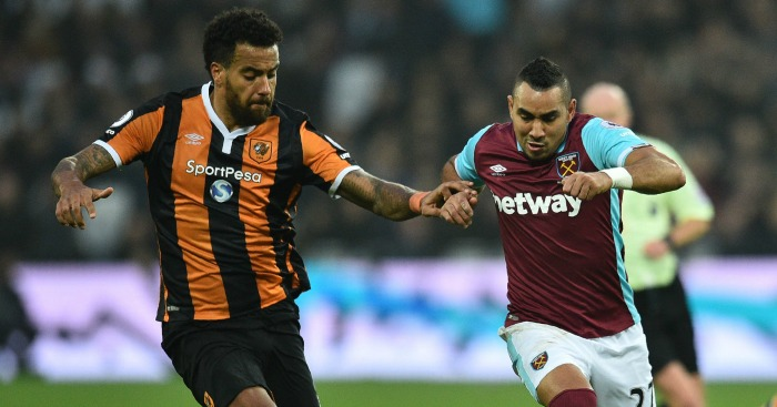 Dimitri Payet: Closely watched by Tom Huddlestone
