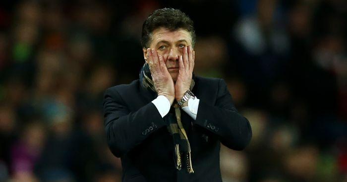 Walter Mazzarri: Hoping for cheer against Arsenal