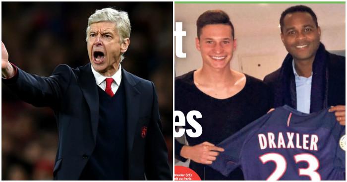 Arsene Wenger: Set to miss out on Julian Draxler
