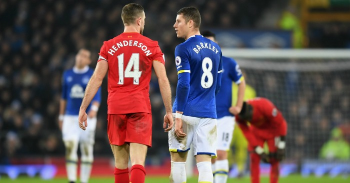 Jordan Henderson and Ross Barkley: Tackle described as a 'shocker'