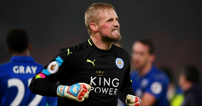 Kasper Schmeichel: Linked with Liverpool